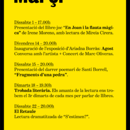 Agenda Març 2014
