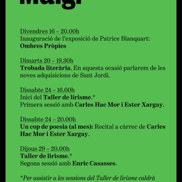 Agenda Maig 2014