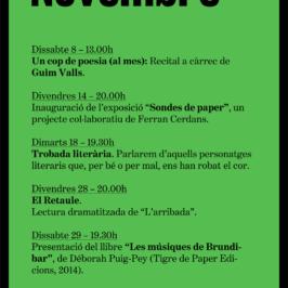 Agenda Novembre 2014