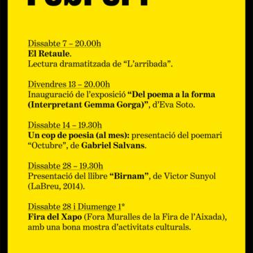 Agenda Febrer 2015
