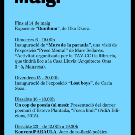 Agenda Maig 2015
