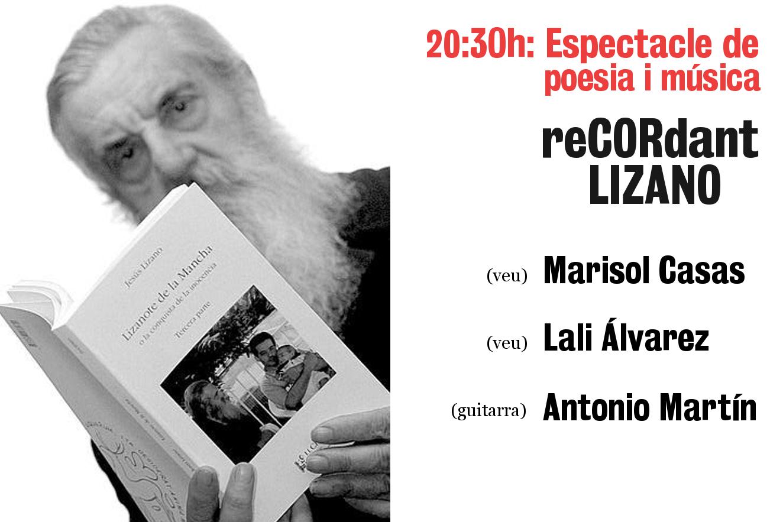 2 anys de cultura: reCORdant Lizano