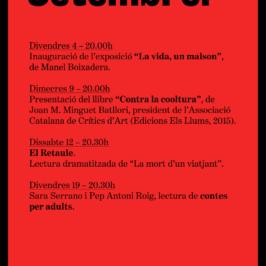 Agenda Setembre 2015