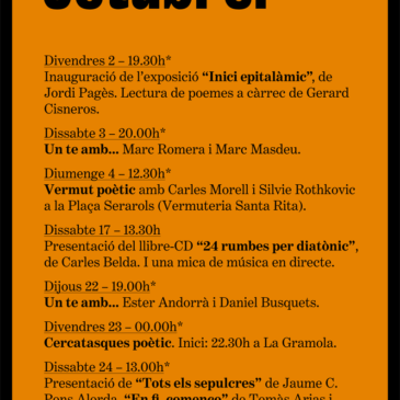 Agenda Octubre 2015