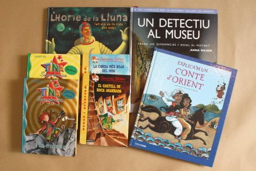 Llibres infantils per totes les edats.