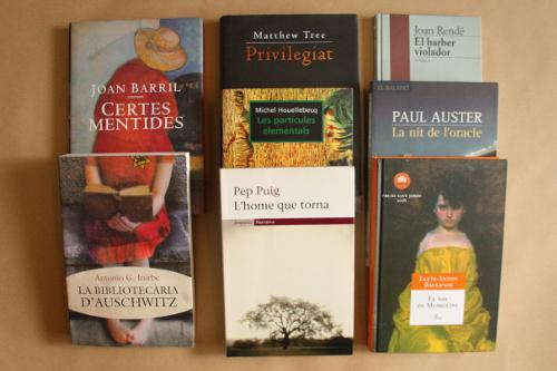 Una àmplia selecció de literatura clàssica i contemporània.