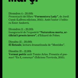 Agenda Març 2016