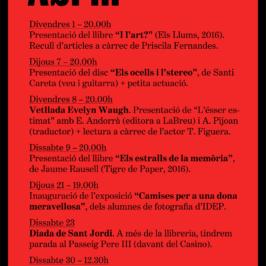 Agenda Abril 2016