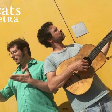 Vermut poètic amb Josep Pedrals i Nico Roig